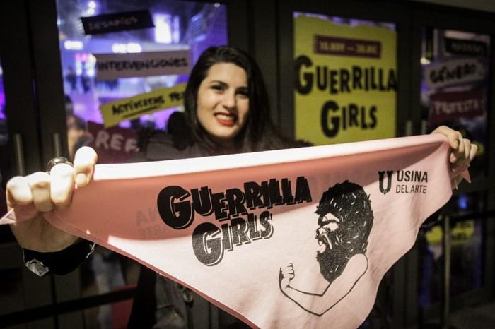 Guerrilla Girls en la Usina del Arte