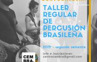 Taller de Percusión Brasileña en el CEMBRA