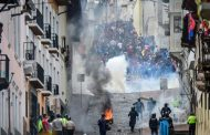 Escala las protestas en Ecuador contra el gobierno de Lenin Moreno
