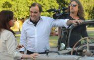 Oliver Stone se entrevistó con Alberto y Cristina Fernández por su documental del lawfare