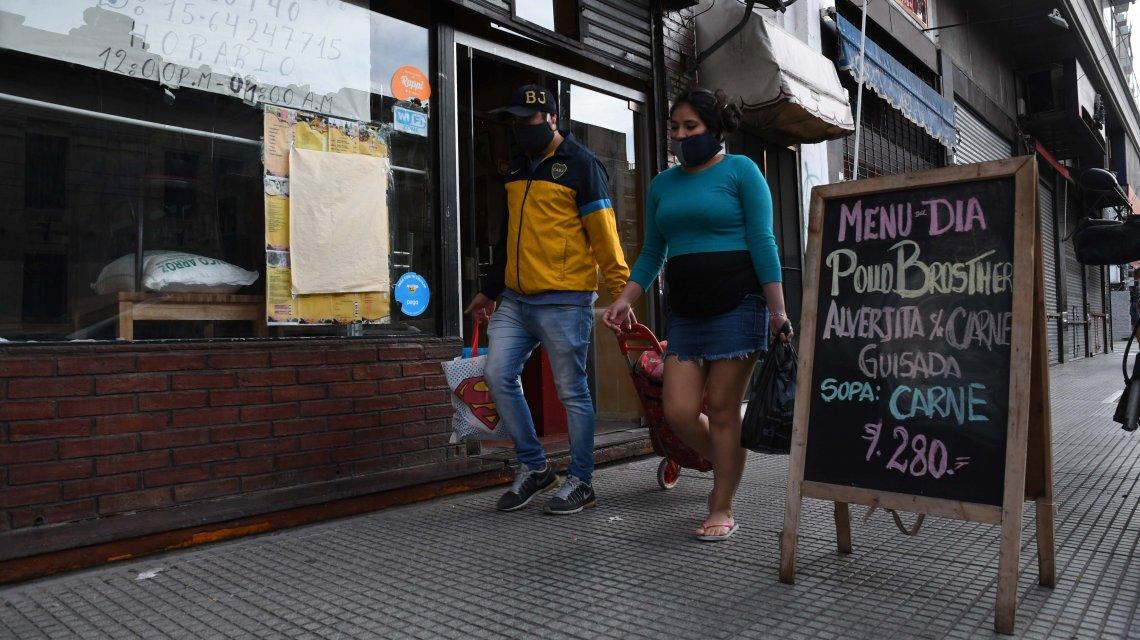 Récord de casos de coronavirus en Argentina: 258 contagios y 5 muertos