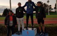 Agustín Osorio se volvió a colgar oro en el Provincial de menores U-18