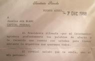36 años de democracia y una carta.