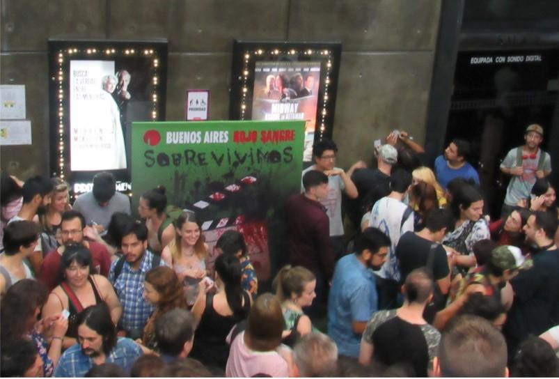 Primer fin de semana del 20° festival Buenos Aires Rojo Sangre