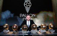 Sexto Balón de oro para Messi, el más ganador de la historia.