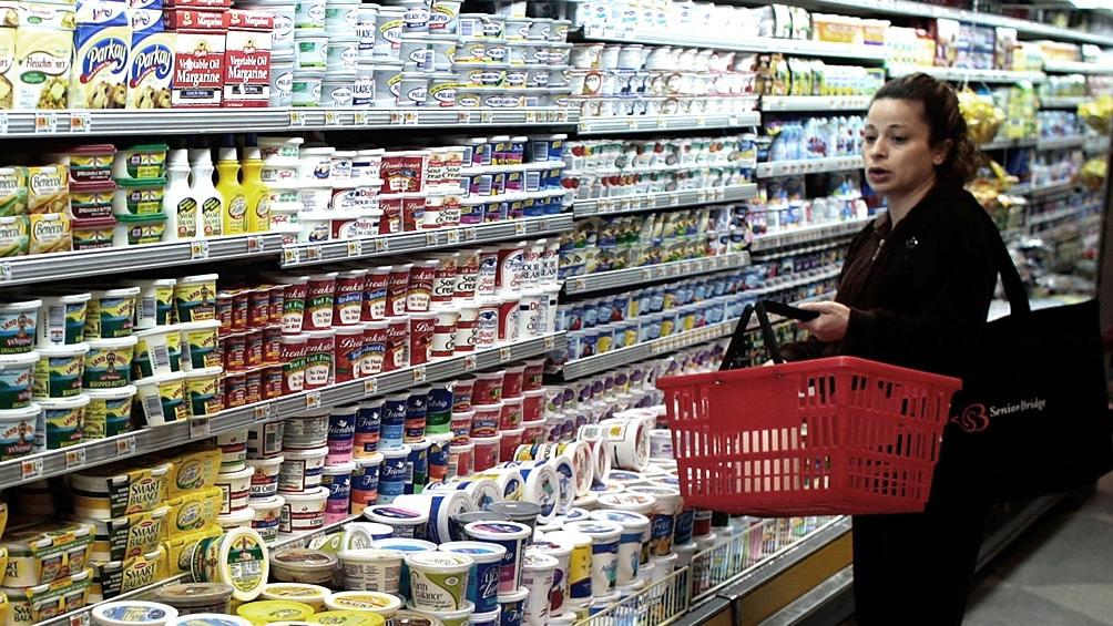 Caída en la venta de supermercados pero aumento en mayoristas.