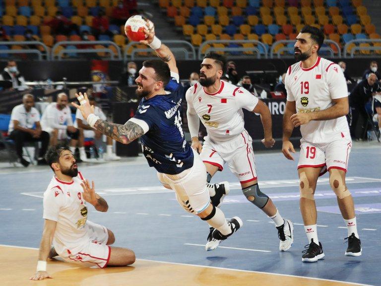 Los Gladiadores ganaron y accedieron a la segunda ronda del Mundial de Egipto