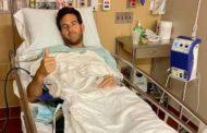 Del Potro se volvió a operar la rodilla.