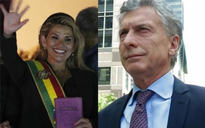 Escándalo internacional.Además de apoyar el golpe en Bolivia, Macri envió municiones