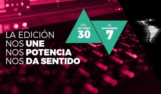 Del 30 de Octubre al 7 de Noviembre la Asociación Argentina de Editorxs Audiovisuales dará comienzo al primer Congreso Iberoamericano de Edición Audiovisual